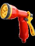 Пистолет-распылитель 8-поз. пластмассовый GRINDA