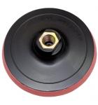 Круг шлифовальный резин. с липучкой 125мм с гайкой М14 на УШМ Targ Velcro(10/100)