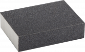 Губка шлифовальная четырехсторн. Р120 100х68х42х26 мм