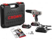 Дрель аккумуляторная CROWN CT21056L BMC 18В