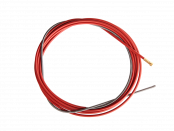 Канал направляющий D=1,0-1,2мм красный 4,5м