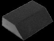 Губка шлифовальная четырехсторн. Р 80 100х68х42х26мм