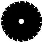 Нож для триммера мет. 255*2,0*25,4мм, 36 зубов ERBA