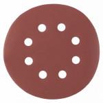 Круг абразивный под липучку с отверстиями 125мм Р280 (5шт) MATRIX