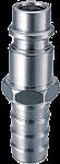 Соединение разъемное рапид (штуцер) елочка 10мм