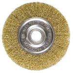 Щетка для УШМ 100мм/22 плоская металл