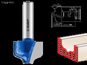 Фреза пазовая фасонная №2 23,8х17,5х4,8х8 мм ЗУБР Профессионал