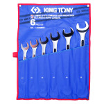Набор комбинированных ключей 34-50мм чехол из теторона 6 предметов KING TONY