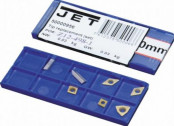 Набор сменных пластин для резцов сечением 10х10 мм //JET