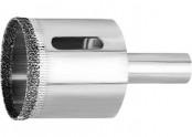 Коронка алмазная п/кафелю , 12х67 3-гранный хвостовик MATRIX