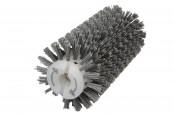 Брашировальная щетка валик Д130х250мм, ворс полимер абразив P80 //JET