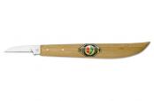 Нож для резьбы по дереву (прямое лезвие, прямая спинка)  KIRSCHEN