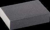 Губка шлифовальная четырехсторн. Р180 100х68х42х26мм