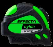 Рулетка  10м*25мм с магнитом, автостопом, лентой нейлон Effecta Nylon