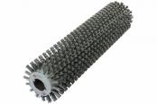 Брашировальная щетка валик Д163х635мм, ворс полимер абразив P80 JET