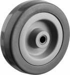 Колесо неповоротное  d=75мм  г/п 50 кг  резина,полипропилен ЗУБР