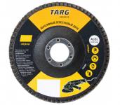 Круг лепестковый торцевой 115х22,2мм Р80 Targ (10/200)