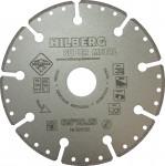 Диск алмазный отрезной 125*22,23 Hilberg Super Metall