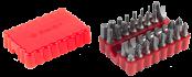 Набор бит ЗУБР с магнитным адаптером,  33 предмета