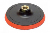 Круг шлифовальный резиновый с липучкой 100мм (под черепашку) TRIO-DIAMOND