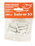 Клинья для кафеля 27х6х6 мм 100шт Bohrer