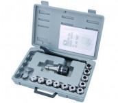 Патрон цанговый MK3/ER40 с набором из 7 цанг: 6, 8, 10, 12, 16, 20, 25 мм ER 40 //JET