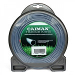 Леска для триммера Caiman PRO 2,5мм 15м блистер