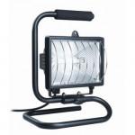 Прожектор галогеновый 500Вт IP54 переноска черный ИЭК LPI03-1-0500-K02