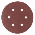 Круг абразивный под липучку с отверстиями 150мм Р150 (5шт) MATRIX