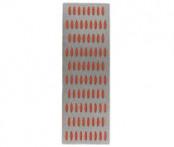 Брусок абразивный алмазный 150х50мм Р200 (красный)