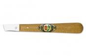 Нож для резьбы по дереву (прямое лезвие со скосом)  KIRSCHEN