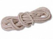 Веревка крученая 3-прядная Д= 6 мм