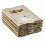 Фильтр-мешки Karcher бумажн. для MV3  5шт.