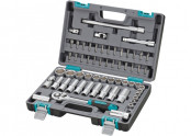Набор инструментов  60пр. 1/2 пластиковый кейс STELS