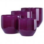 Кашпо Pure Violet D19см, керамика