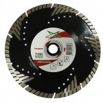 Диск алмазный отрезной 125*2,0*10*22,23 Alligator Professional Turbo MD-Stars