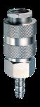 Соединение разъемное рапид (муфта) елочка 10мм