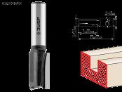Фреза пазовая прямая 12 мм, рабочая длина-19 мм, хв.-8 мм, ЗУБР Профессионал