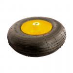 Колесо 4,00/6,00 d16 длина оси 100 D325мм пневм.