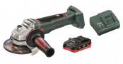 УШМ аккумуляторная Metabo WB 18 LTX BL 125 Quick 1*4,0Ач LiHD+ЗУ ASC55 T0336