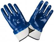Перчатки нитриловые (манжет крага)
