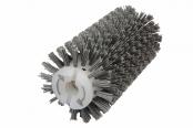 Брашировальная щетка валик Д130х410мм, ворс полимер абразив P80 для JET JWDS-1632