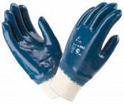 Перчатки нитриловые (манжет резинка)