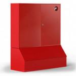 Стенд металл. закрытого типа (П-без окон) с ящиком для песка без комплекта (Т)