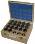 Набор 17 цанг с размерами 3-25 мм для 50000191 //JET