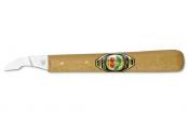 Нож для резьбы по дереву (короткое скошен.лезвие)  KIRSCHEN