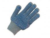 Перчатки х/б 5-ти ниточные с ПВХ (графит)