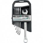 Набор ключей комбинированных 8-17мм 6шт матовый хром STELS