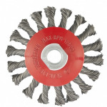 Щетка для УШМ 100мм М14'' тарелка крученая проволока 0,5мм