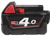 Аккумулятор 18,0В 4,0Ач Li-Ion Milwaukee M18 B4